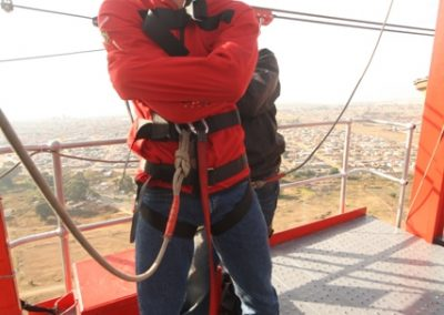 Straightjacket Bungee | Soweto Towers
